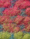 Italian ombre' dotted wool fleece knit 1.875 yd