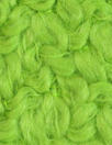Italian fresh lime wool boucle' woven coating