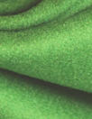 famous designer virgin wool coating - bright moss