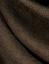 Italian wool/cotton blend summer woven - chocolate