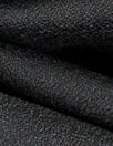 100% wool crepe - BLACK