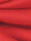 100% wool crepe - RED