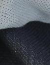 Italian wool double-sided woven - midnight/stone