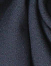 famous designer virgin wool stretch doublecloth - midnight