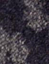 Italian virgin wool double face woven - navy floral