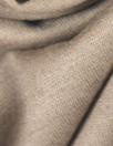 NY designer wool/visc sweater knit - blush-gray