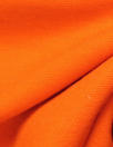 Italian wool doubleknit - hot orange