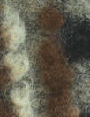 Italian textured wool fleece knit - nutmeg graphic