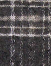 Noriso1 Ferrari yarn dyed wool gauze - b/w plaid