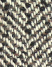 Italian earth tones wool blend herringbone woven