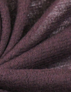 Italian wool gauze sweater knit - plum raisin