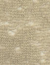 NY designer wool blend sweater lace - warm taupe 2.5 yd
