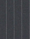 English luxury wool pinstripe woven - navy/gray