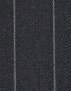 English luxury wool pinstripe woven - midnight/gray