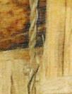 Italian sepia basket closeup silk/viscose woven