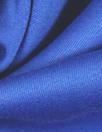 superfine luxury wool sateen - electric blue