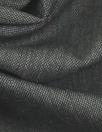 Italian dark gray wool stretch denimy woven