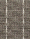 Italian virgin wool pinstripe woven - sable