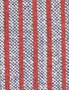 Italian doublesided wool stretch coating - brick/navy