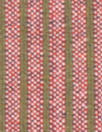 Italian doublesided wool stretch coating - olive/rouge