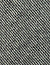 Italian wool twill weave 'denim' - black/sand
