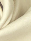 famous designer virgin wool doublecloth twill - vanilla