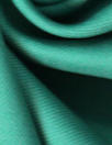 famous designer virgin wool doublecloth twill - spearmint