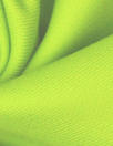 famous designer virgin wool doublecloth twill - spring green